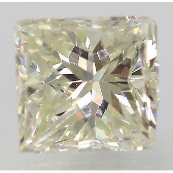 Certificado 0.90 Quilates I VVS2 Princesa Diamante Suelto Natural Mejorado 5.31x5mm
