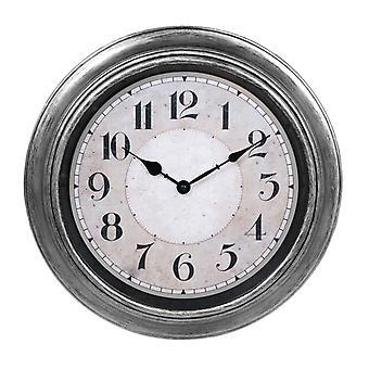 Clock out væg antik sølv D40 vægur