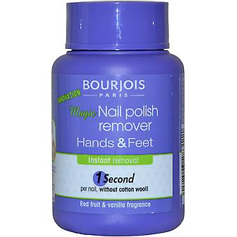 Bourjois Paris Magic Nail Polish Remover 75ml Hands and Feet. 1 Second per Nail