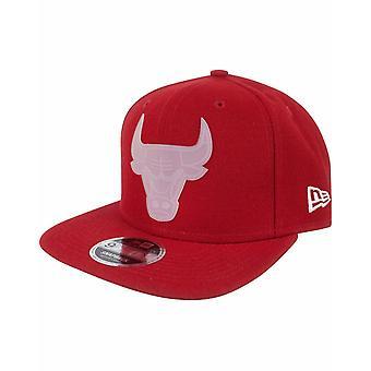 New Era 9Fifty NBA Chicago Bulls Transparent Logo Snapback Cap