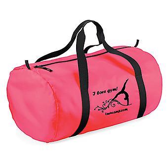 Ultra licht van neon roze Sporttas met