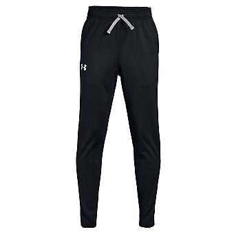 Under Armour Brawler 2.0 Kids Tapered Track Pant Broek Zwart/Wit