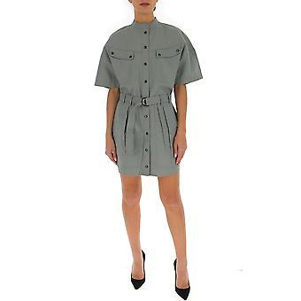 Isabel Marant ÉToile 20pro161720p014e67vs Women's Green Cotton Dress