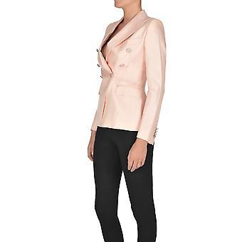 Tagliatore Ezgl110017 Kvinnor's Rosa Viskos Blazer