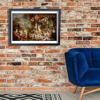 Peter Paul Rubens - het feest van Venus Poster Print Giclee