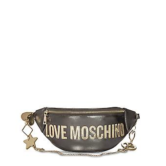 Love Moschino Original Women Fall/Winter Crossbody Bag - Grey Color 40546
