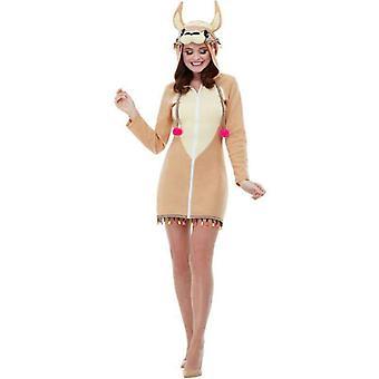 Llama Costume Adult Brown