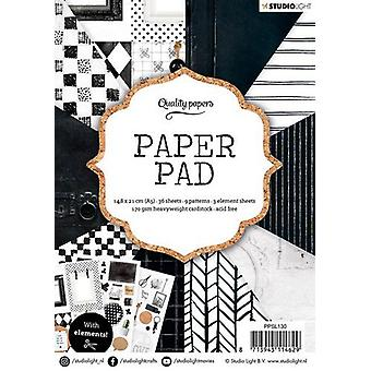 Studio Light 170gsm Paper Pad A5 36/Pkg-NR. 130, 12 Designs/3 Each