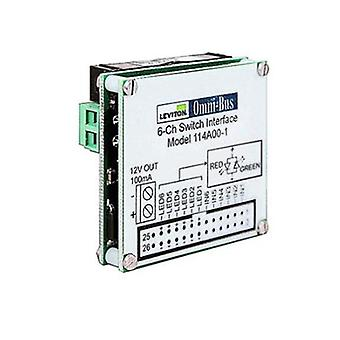 Leviton Omni Bus 6 Channel Universal Switch Interface Module