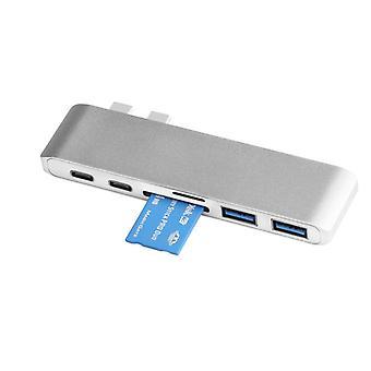 Προσαρμογέας πολλαπλών θυρών USB-C - σταθμός σύνδεσης - διανομέας USB 3.0