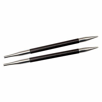 Karbonz: Strickstifte: Rund: Austauschbar: Standard: 3.25mm