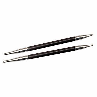 Karbonz: Knitting Pins: Circular: Interchangeable: Standard: 3.25mm