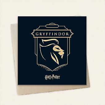 Cardology Harry Potter House Gryffindor Greeting Card