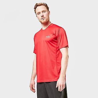 Neue Peter Storm Men's Balance Kurzarm T-Shirt rot