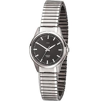 JOBO señoras muñeca reloj analógico titanio cable señoras reloj de cuarzo