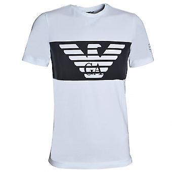 EA7 Miesten's Valkoinen T-paita