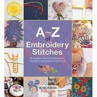 AZ of Embroidery Stitches