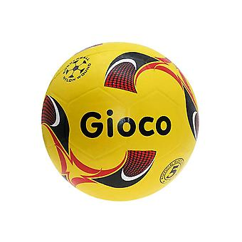 Gioco Moulded Kids Training Football Ball Yellow