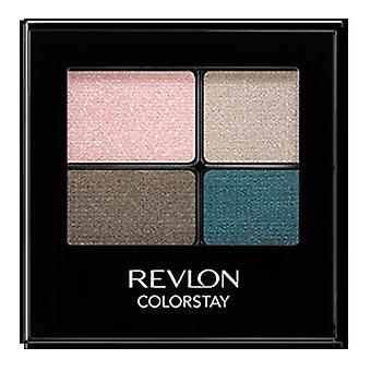 Revlon Colorstay 16 Hour Eye Shadow Quad, Romantic 526 { 6 Pack }