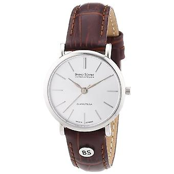Bruno S_hnle 17-13045-241-wristwatch, leather, color: Brown