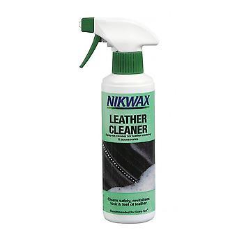 Nikwax Leather Cleaner 300ml, de veilige en gebruiksvriendelijke reiniger voor alle waterdichte lederen kleding, apparatuur en accessoires