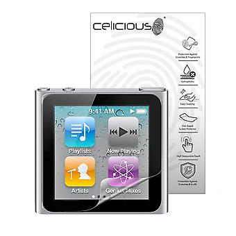 Celicious Impact anti-shock onsplinterbaar Screen Protector Film compatibel is met Apple iPod Nano-6