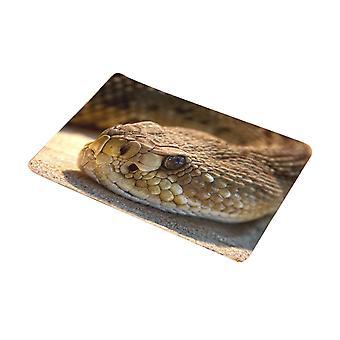 Bagno stuoia serpente di flanella 40x60cm