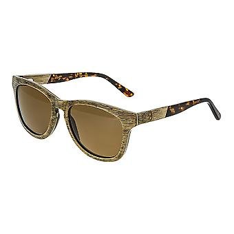 Earth Wood Cove Polarized Sunglasses - Brown/Brown