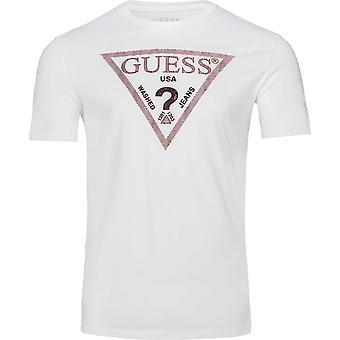 מניח על ידי מרציאנו לוגו חולצת טריקו חולצה לוגו חולצת חולצת טריקו חולצת חולצה לוגו T_SHIRT חדש