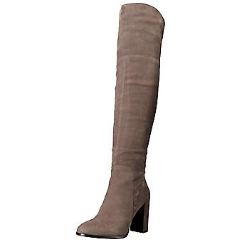Kenneth Cole New York Womens Jack Engineer Closed Toe Over Knee Fashion Boots