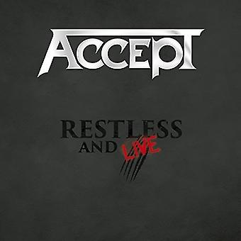 Accept - Restless and Live [CD] USA import