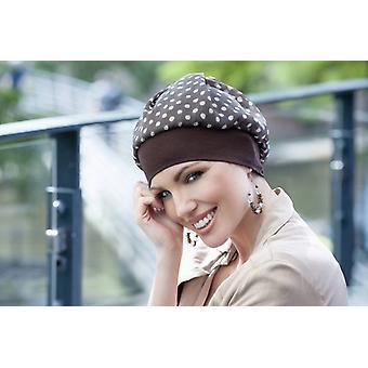 Chapéu de Dot de Polka Brown