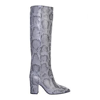 Paris Texas Px166xpmbbgrigio Women's Grey Leather Boots
