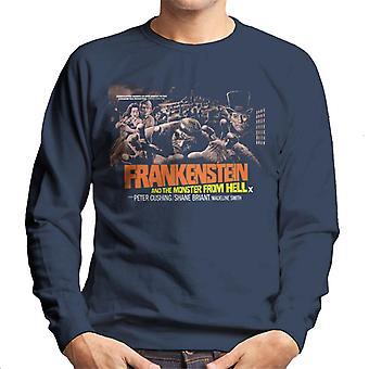 Hammer skräckfilmer Frankenstein monster från helvetet Grab män ' s tröja