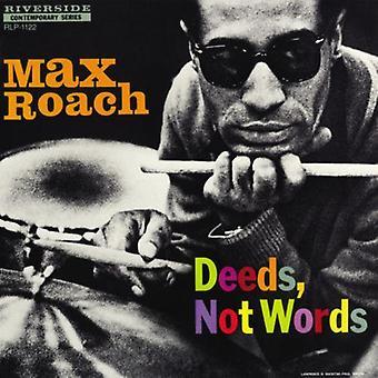 Max Roach - importation USA des actes non des mots [Vinyl]