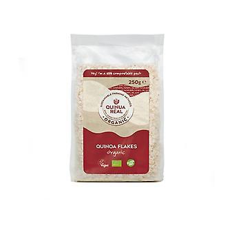 Økologisk ægte quinoa flager 250 g