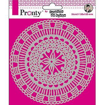 Pronty Crafts Mandala Circle 6x6 Inch Stencil