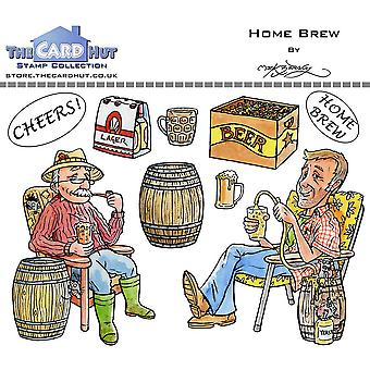 The Card Hut Home Brew Clear Stamps