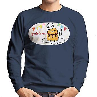 Gudetama Bunting Chef Herren's Sweatshirt