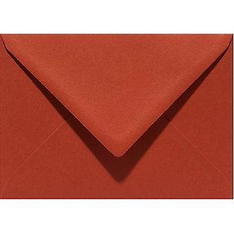 Papicolor 6X Sobre C6 114x162 mm Ladrillo rojo