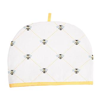 Dexam Bees Knees Tea Cosy 6 Cup, Yellow