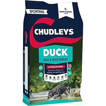 Dodsen & Horrell Chudleys Ente mit Reis & Gemüse - 15kg