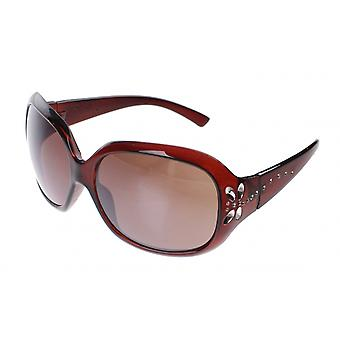 Sunglasses Women's Brown with Brown Glasses (A60404)