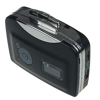 Cassette  Record Player Portable Tape To Audio Mp3 Format Converter To Usb Flash Drive