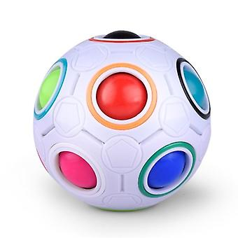 Antistress Rainbow Football Puzzle For Kids Toys