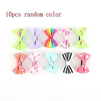 Baby Girls Hair Clip Mixed Colorful Bow Hairpins Duckbill Lovely Cute Cartoon