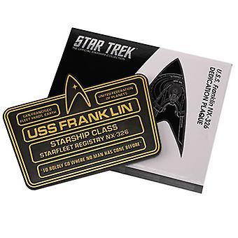 Star Trek Plaque 8 (Franklin) USA import