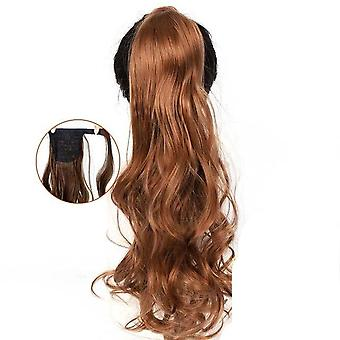 Long Wavy Wrap Around Clip In Ponytail Hair Extension - Heat Resistant