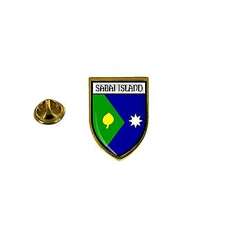 pine pine pine badge pine pin-apos;s souvenir city flag country coat of arms saibai island australia