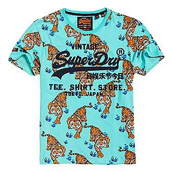 Superdry Shirt Shop AOP T-paita - Uima-altaan painatus